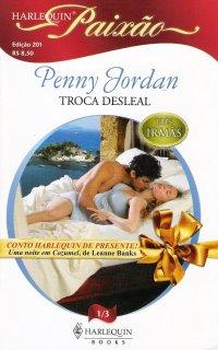 Capa do livro Troca Desleal, de Penny Jordan