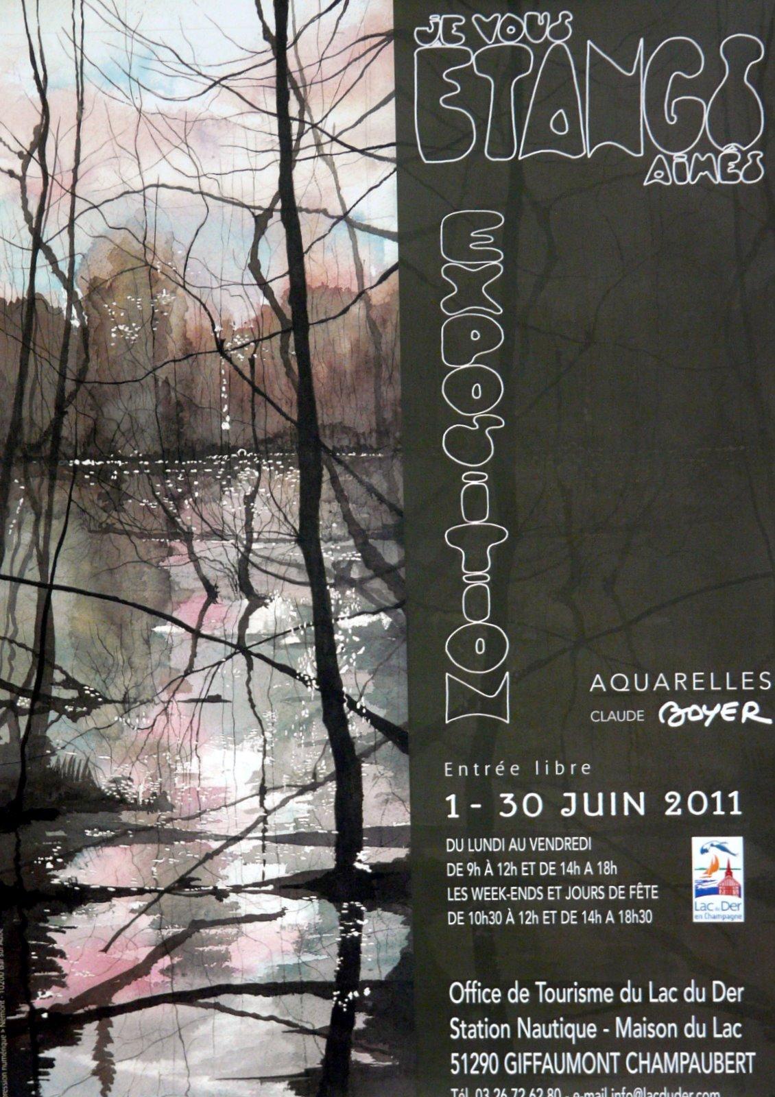 Brienne le ch teau et sa r gion exposition aquarelles lac du der - Office tourisme lac du der ...