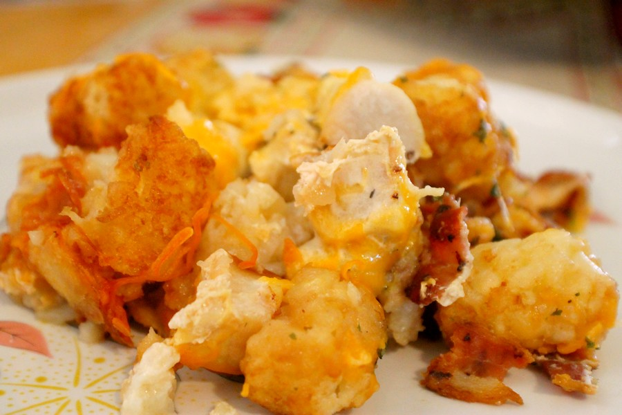 ... Ranch and Cheese Tater Tot Casserole (Tater Tot Casserole ala Mom