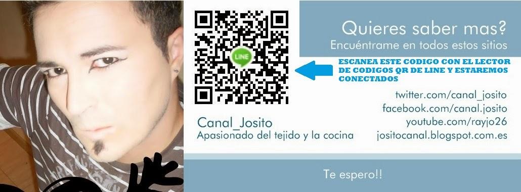 Entre cocina y tejido, el canal de Josito en youtube