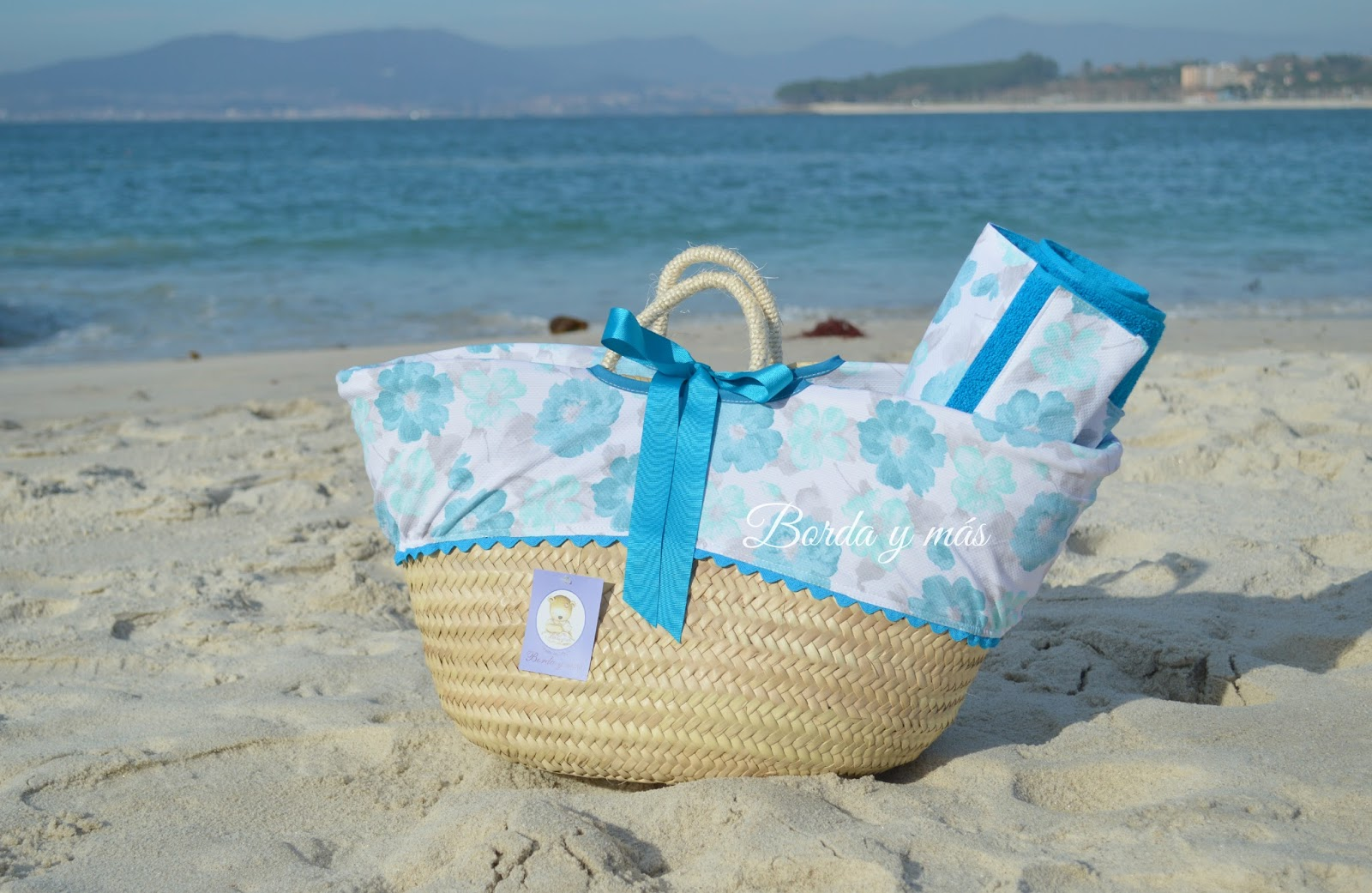 capazo playa turquesa
