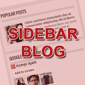 Sidebar Blog Yang Kosong