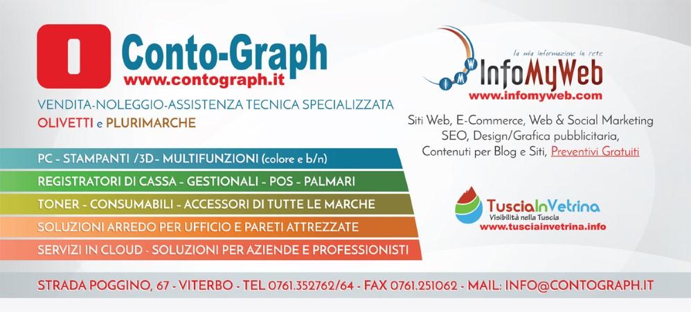 Conto-Graph InfoMyWeb Olivetti Viterbo