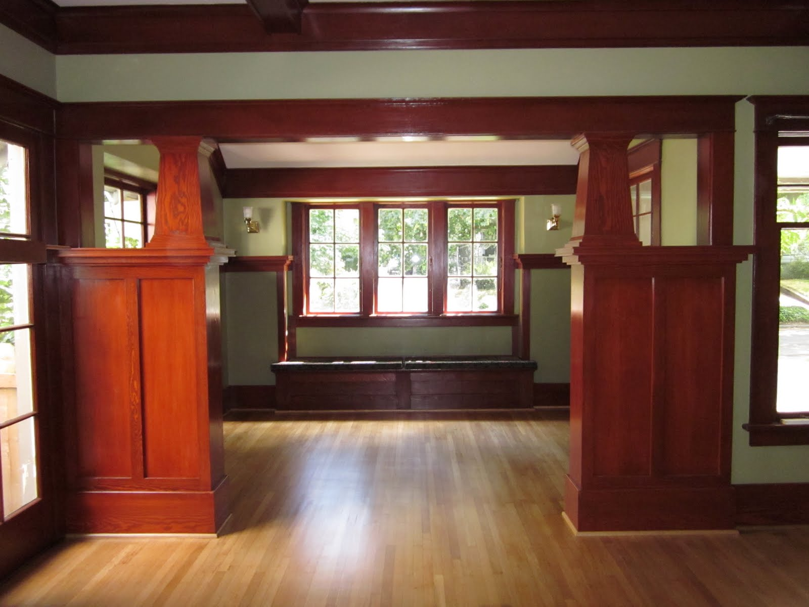 Laurelhurst Craftsman Bungalow Living Room Photos