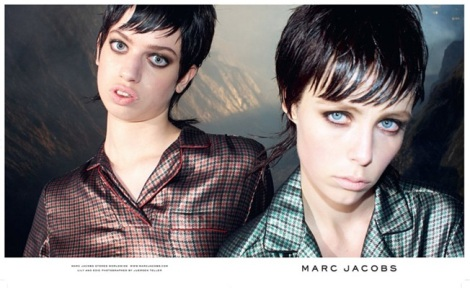 Lily McMenamy and Edie Campbell by Juergen Teller