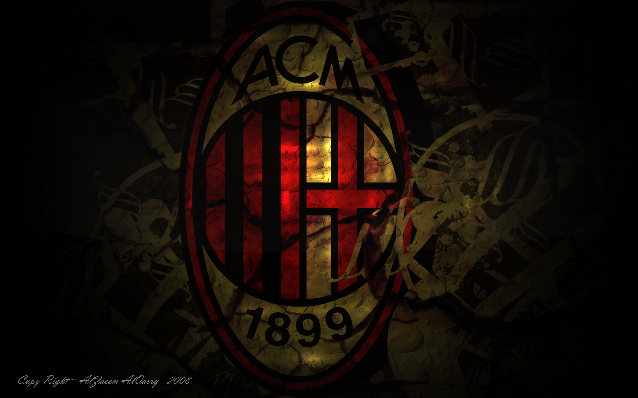 ac milan logo wallpapers hd collection free download