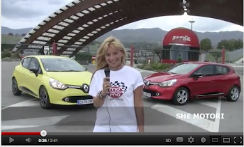 She tester la nuova Renault Clio