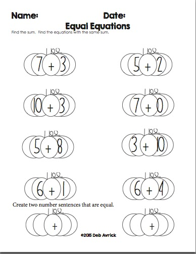 Number Sentences For Kindergarten - learn to write numbers 1 10 ...