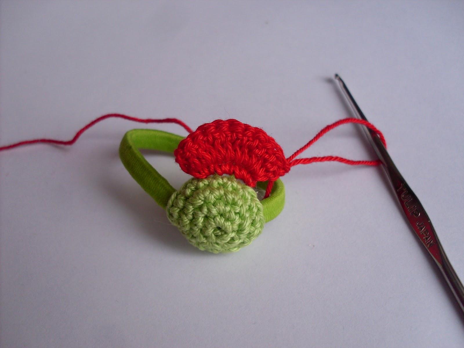 Вязание крючком заколок
