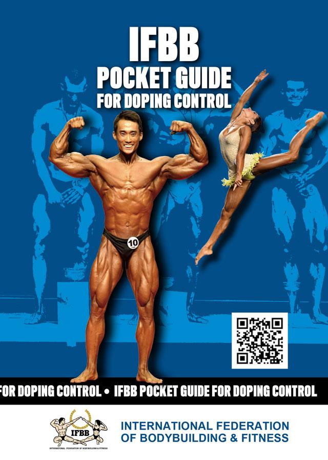 Novo guia de bolso para controle de doping da IFBB. Foto: IFBB