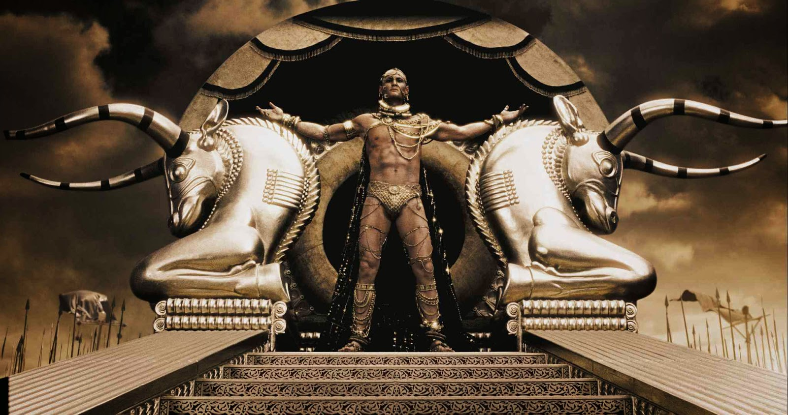 Xerxes throne