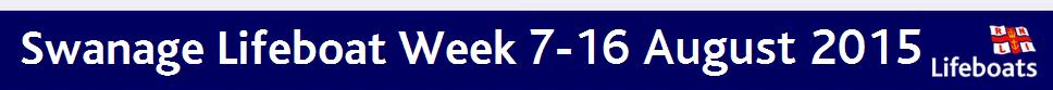 Swanage RNLI Lifeboat Week