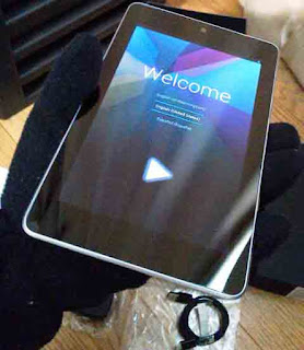 Nexus 7(2012) 、Welcome