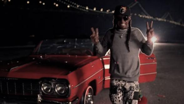 Foto do Lil Wayne no vídeo The Motto