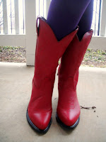 Cowboy Boots Red7