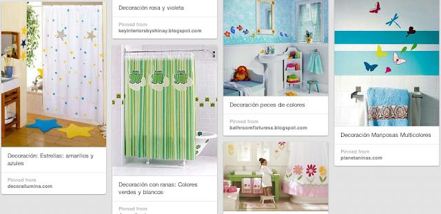 ideas decoración de baños
