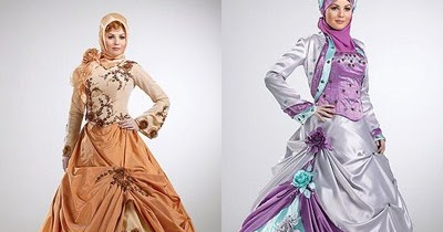 Muslim Wedding Hijab dari Luar Negeri | Tutorial Hijab