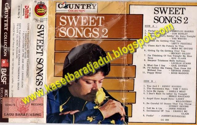 kaset ini berisi lagu lagu slow yang beraroma musik country lagu