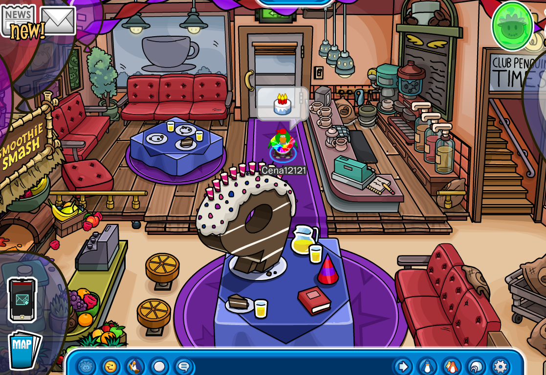 Club Penguin 9th Anniversary Party