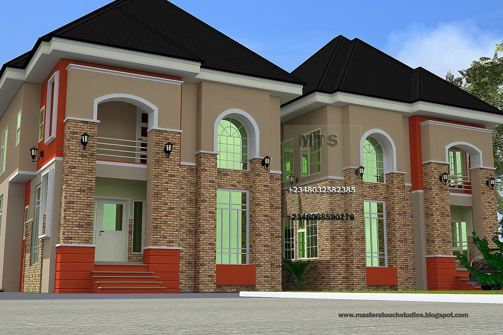 Residential homes and public designs for 4 bedroom house designs in nigeria