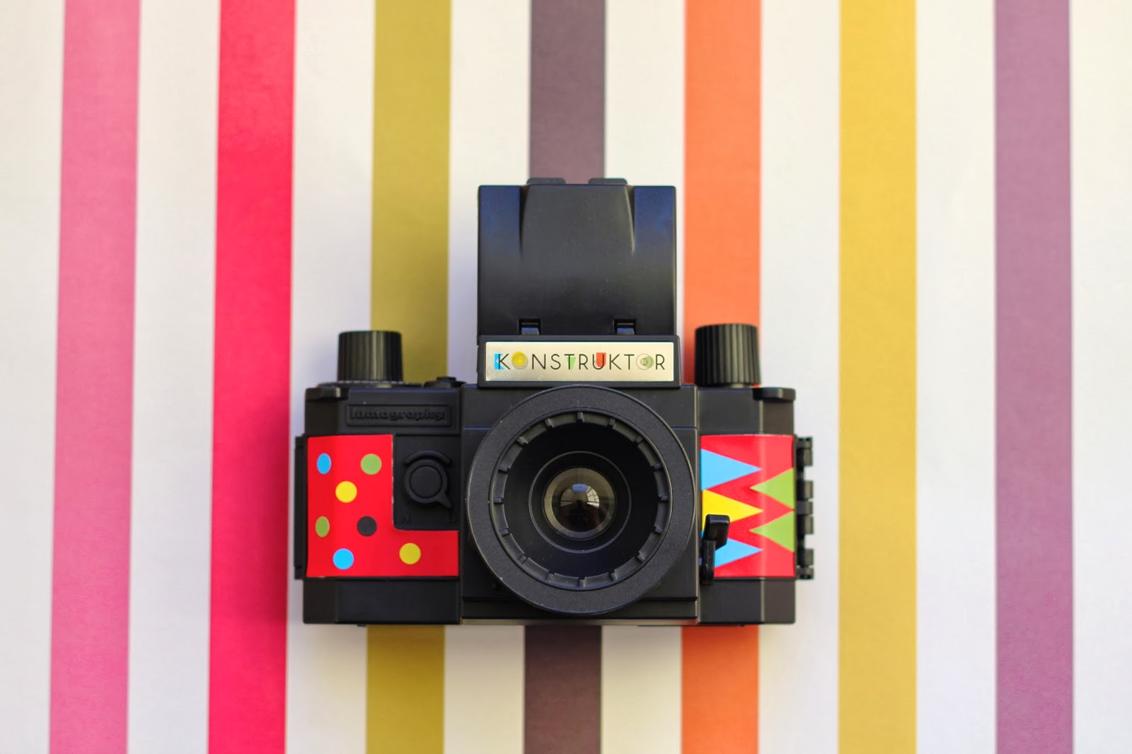 My brother bought me some lomography film as well, so I'm going to