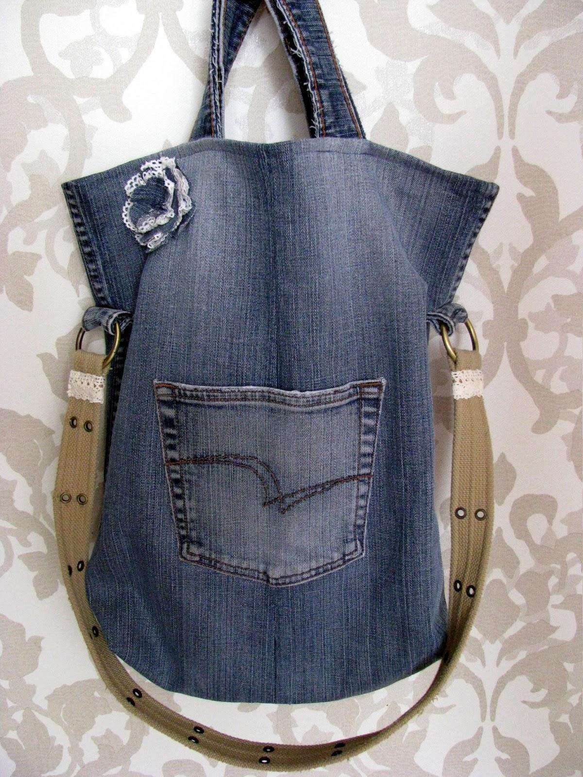 Сумки своими руками из джинсы мастер класс