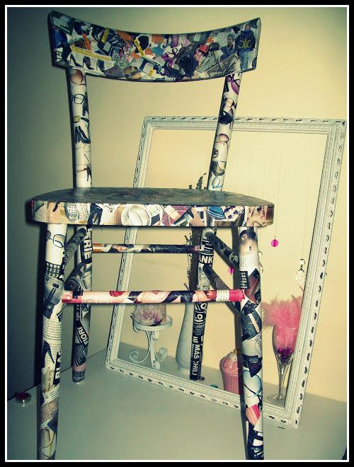 Artisticamente Alina Restyling Sedia Della Nonna
