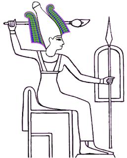 Imagen de la diosa Sumeria Antu o Anat.