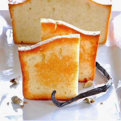 Cardamom Vanilla Bean Pound Cake