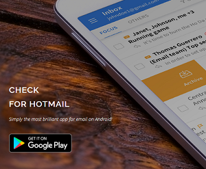 Communication App of the Month - Check for Hotmail