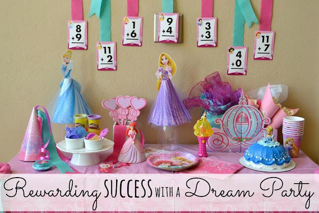 Mommy Testers Disney Princess #DreamParty celebration