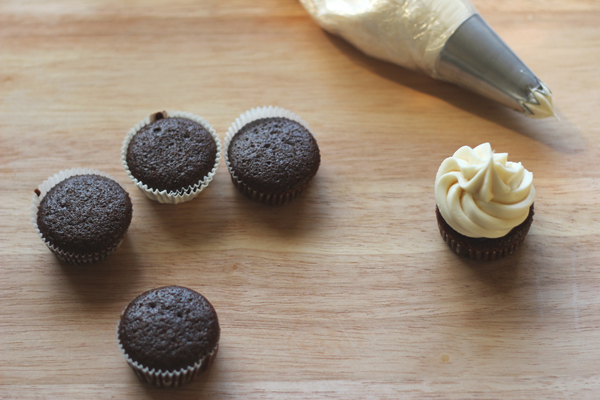 ... Co.: Chocolate Stout Cupcakes with Bailey's Cream Cheese Frosting