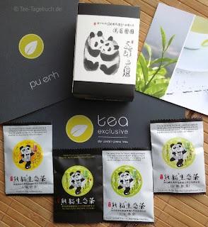 Panda-Tee-Proben