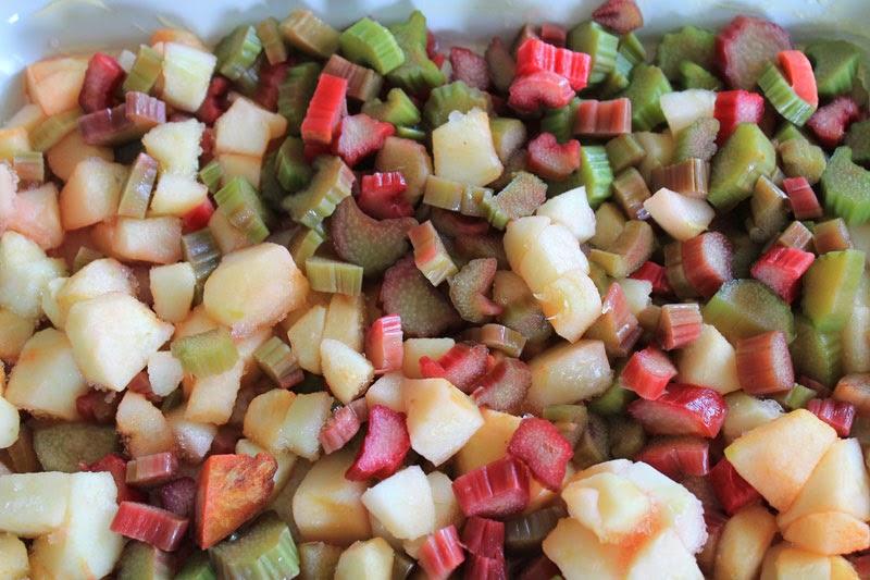 Rabarbaro e mele