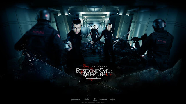 Resident Evil Afterlife Movie