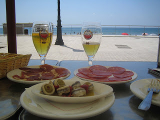 Restaurant by Sitges Beach