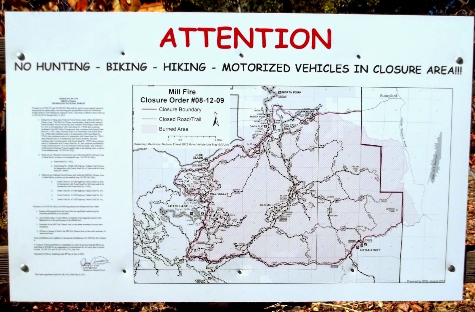 Intense Wildfire and Over Regulation Impact OHV Recreation - Letter to EPA from BRC