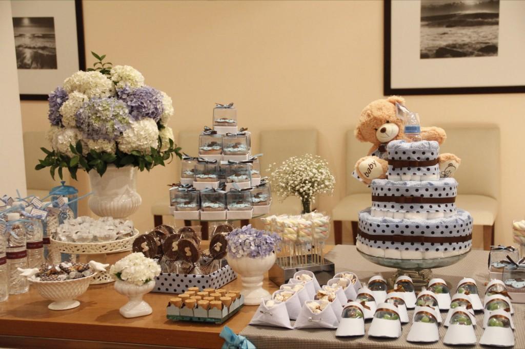 decoracao festa urso azul e marrom : decoracao festa urso azul e marrom:decoracao festa urso marron e azul – festa infantil