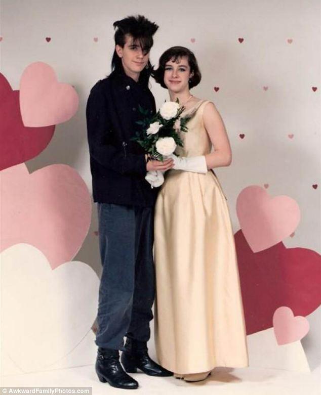 Extrañas fotografías de amor por San Valentin