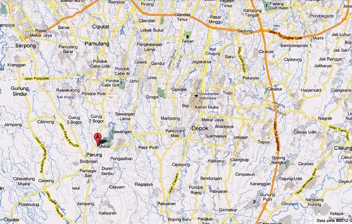 Peta Kantor Kami  - Klik Untuk Memperbesar :