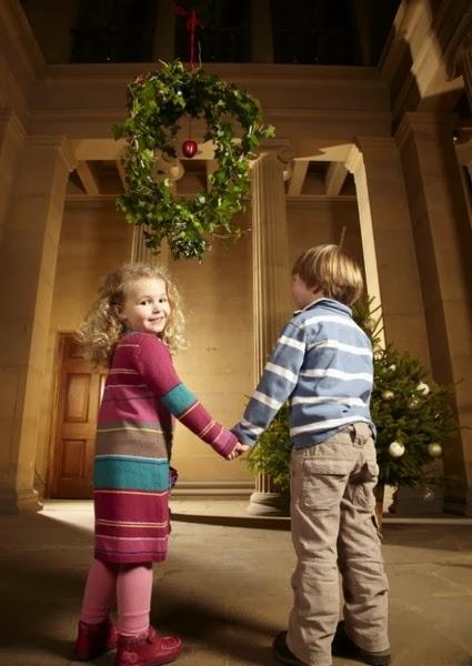 Рождественская омела, Ветка поцелуев. Англия