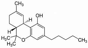 麻薬「大麻」由来の delta-9 THC (tetrahydrocannabinol)