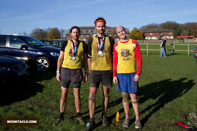 Team Mudstacle at Spartan Beast 2012