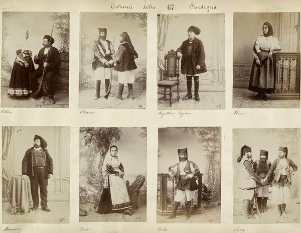 Sardinia Folklor Costumes