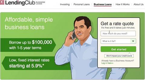 Prêt aux entreprises Lending Club