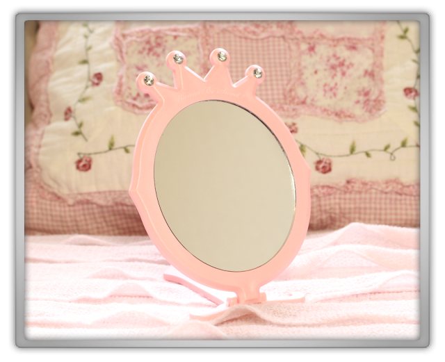 Etude House Haul Review accessories decor kawaii cute pink ebay beauty korean cosmetics princess mirror crown 2