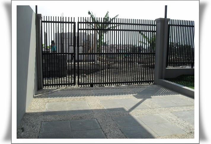 Memilih pagar rumah minimalis 6