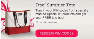 Free Kelloggs Soecial K Summer Tote