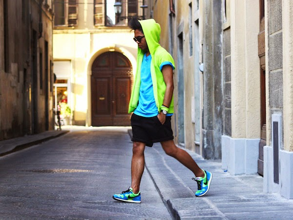15. Neon Summer Mens Fashion, Jerome Centeno.