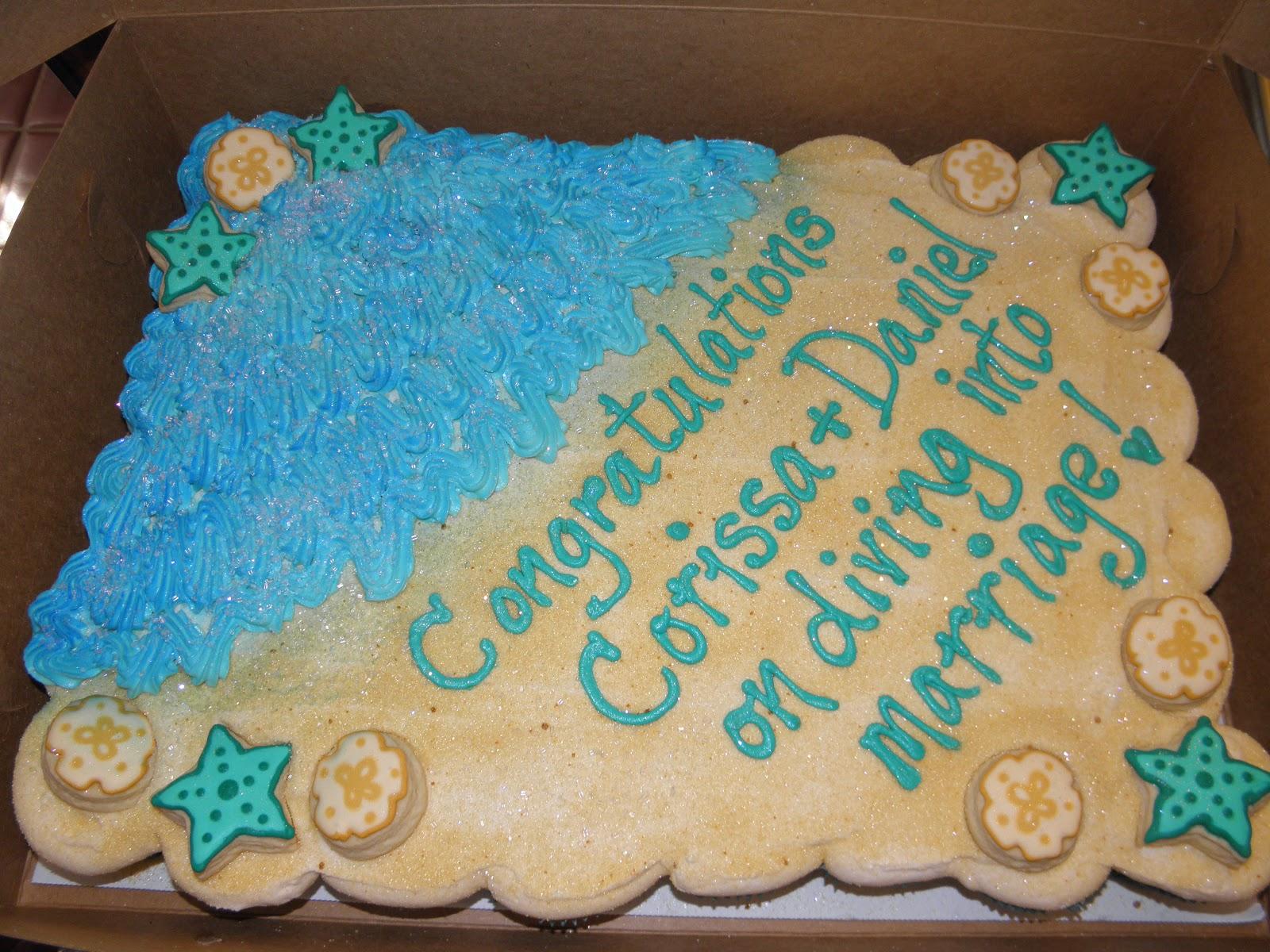 Cookie Dreams Cookie Co Ocean Themed Cake & Cookies